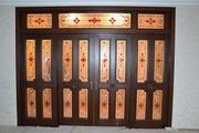 Двери на заказ из натурального дерева